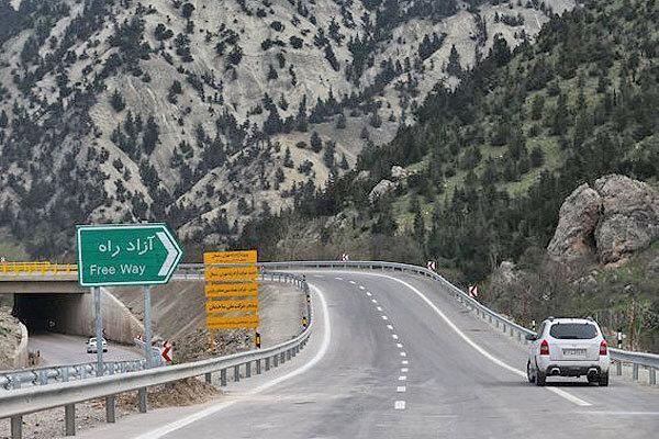 افتتاح قطعه یک تهران-شمال با حضور رئیس جمهوری ، آزادراهی که بعد از 24 سال زیر بار ترافیک می رود