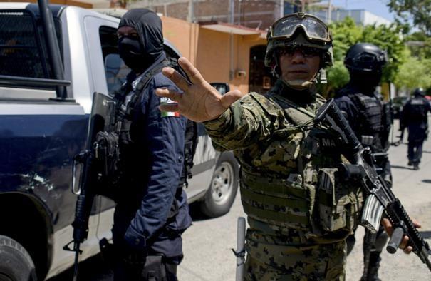 19 کشته در تیراندازی بین گروه های تبهکار مکزیک