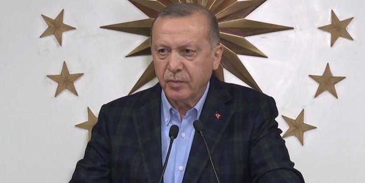 اردوغان: مقررات منع آمد و شد باز هم اعمال می شود