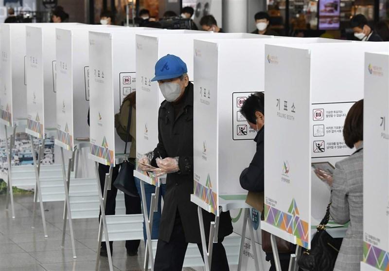 انتخابات پارلمانی با رنگ کرونا در کره جنوبی