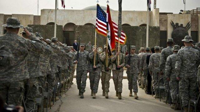 تعداد نظامیان آمریکایی در عراق کم می گردد