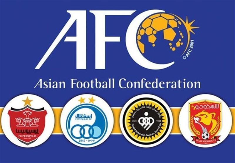 رأی کاربران سایت AFC به صعود هر 4 نماینده ایران در لیگ قهرمانان آسیا