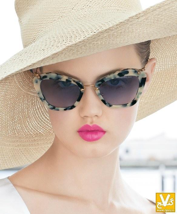 جدیدترین مدل های عینک دودی زنانه 2014- سری 1